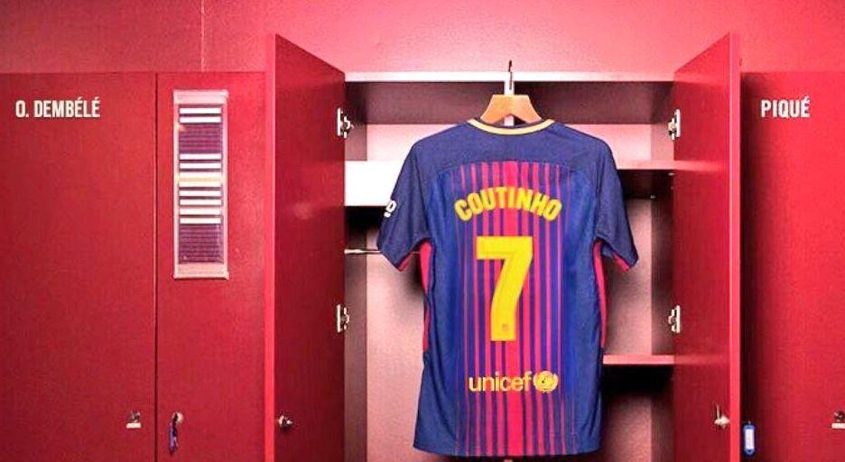 החולצה של פליפה קוטיניו בברצלונה