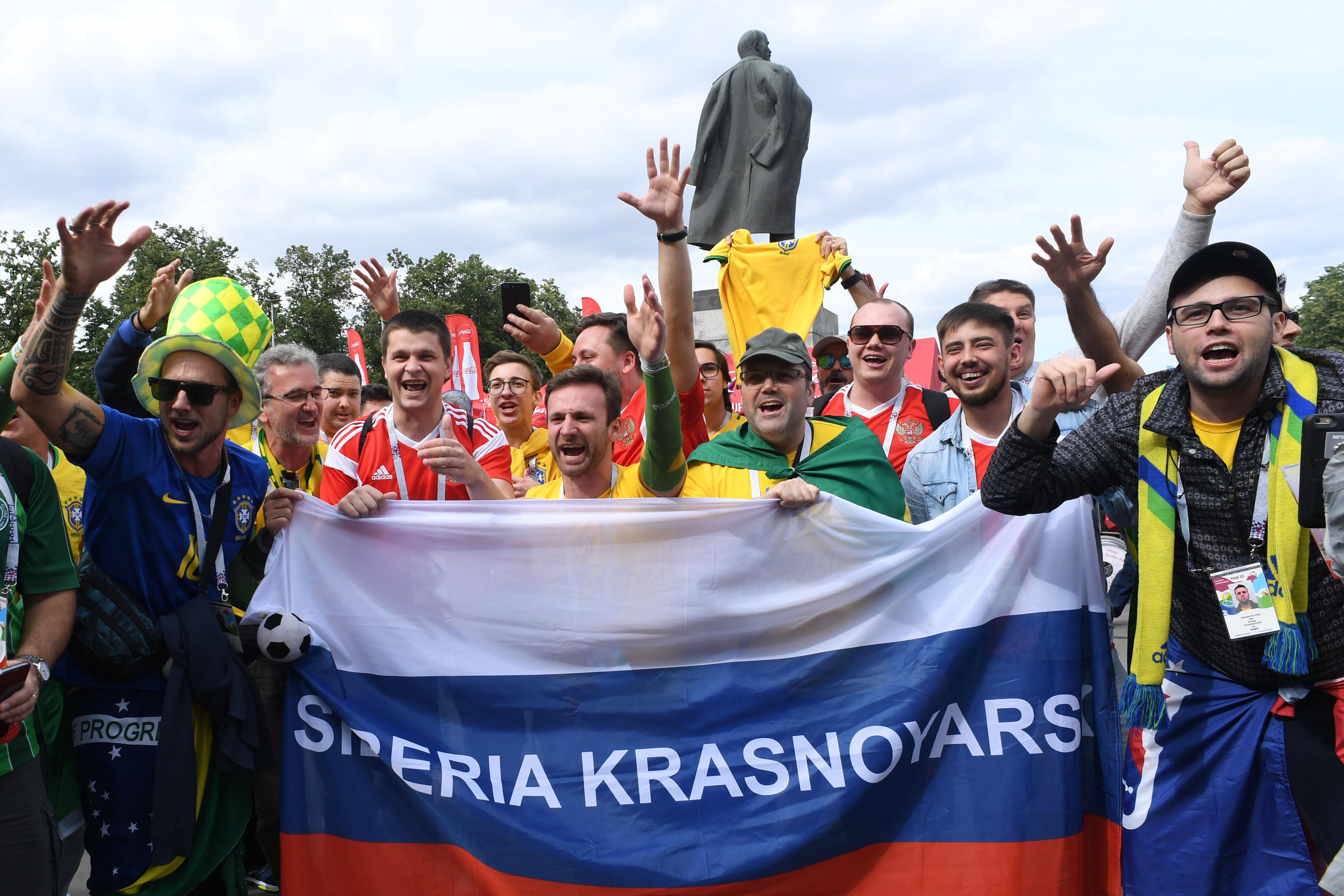 אוהדי נבחרת רוסיה