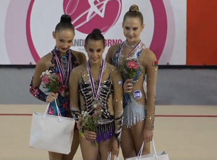 ארבע מדליות ללינוי אשרם בגרנד פרי ברנו