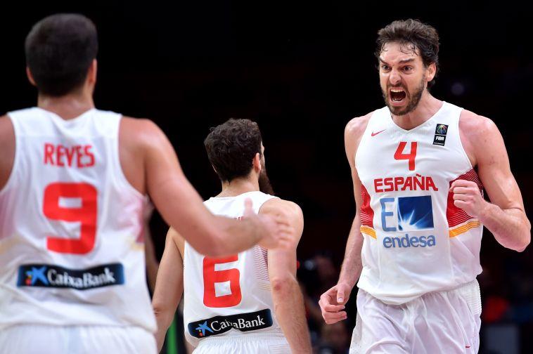 40 נקודות של גאסול העלו את ספרד לגמר
