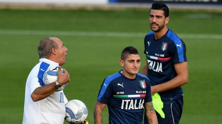 אימון נבחרת איטליה. הטראומה מגמר האלופות השפיעה?