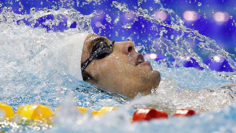 יעקב טומרקין לא עלה לגמר ב-100 מטר גב