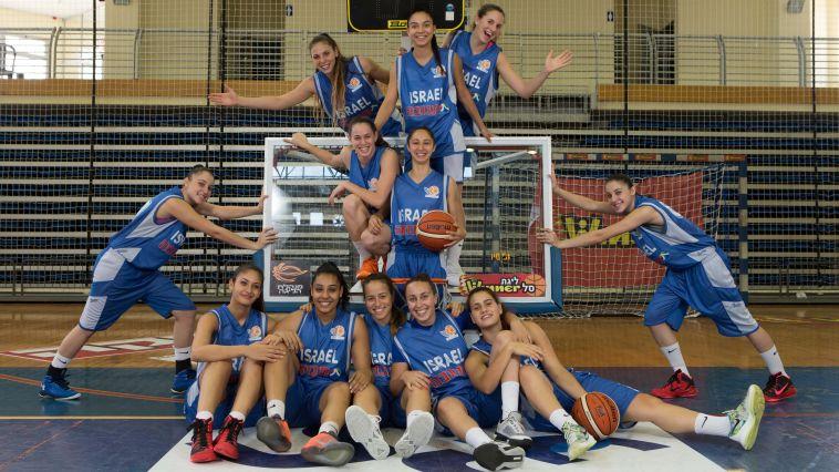נבחרת העתודה בנות יוצאת לאליפות אירופה