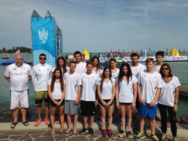 שתי מדליות ארד בגביע העולם במים פתוחים