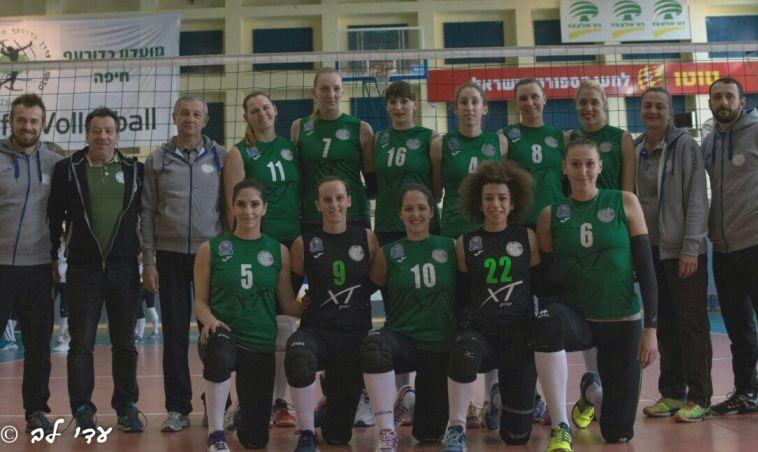 נשים: ניצחון למכבי חיפה בבכורה של צ'רבייקוב