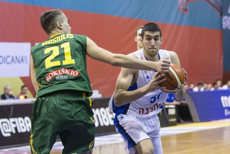 הפסד שלישי לנבחרת הנוער, 94:88 לליטא