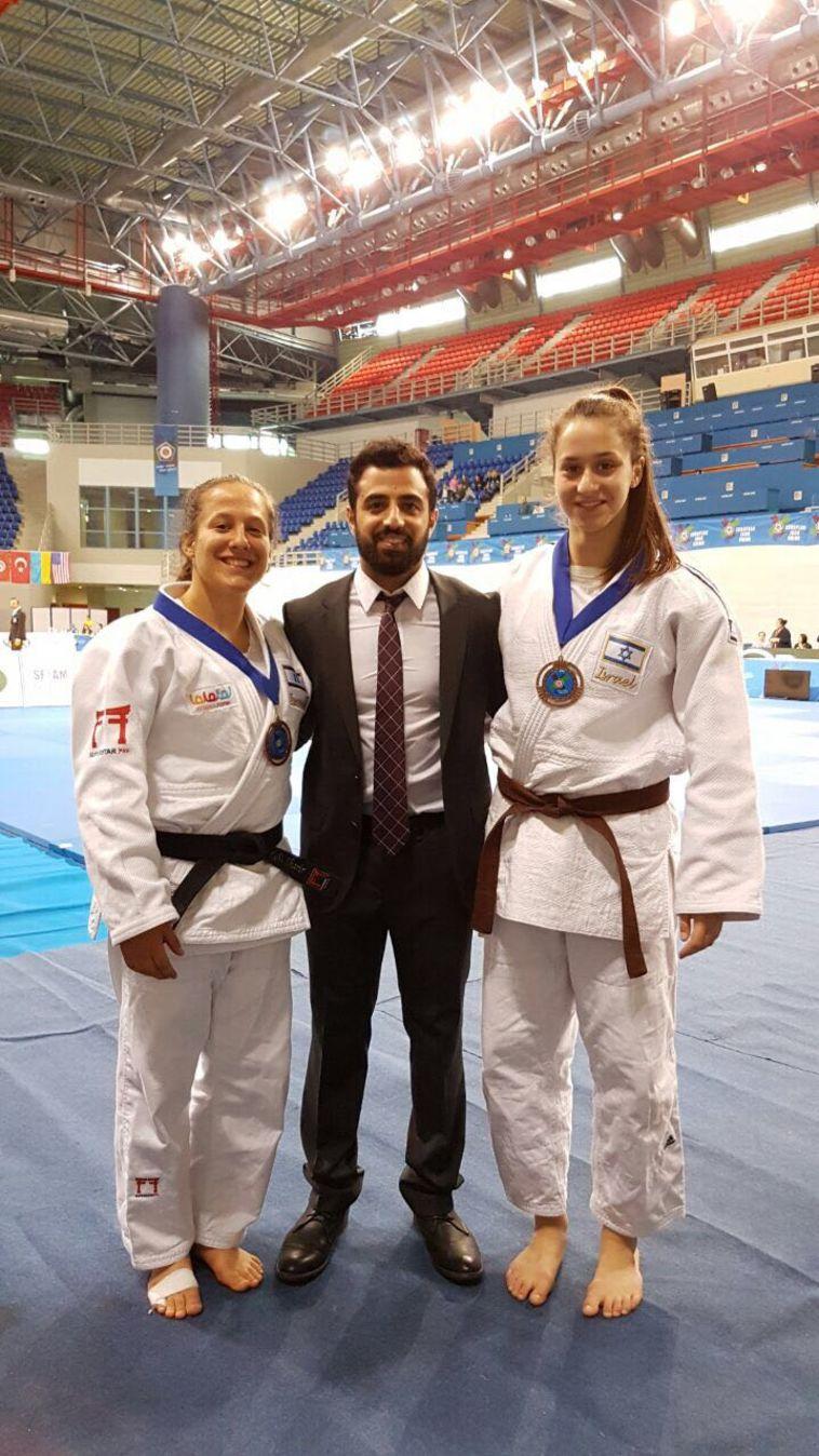 שתי מדליות ארד לנבחרת הנוער לנשים בג'ודו
