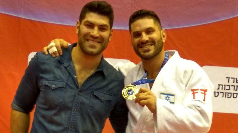 אלון ששון, אחיו של אורי, זכה באליפות ישראל