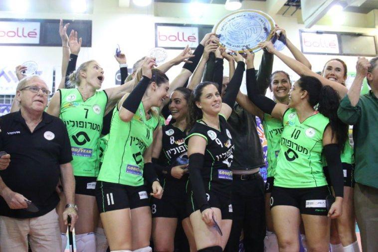 """בניגוד לכדורגל: כפ""""ס אלופת המדינה בכדורעף נשים"""
