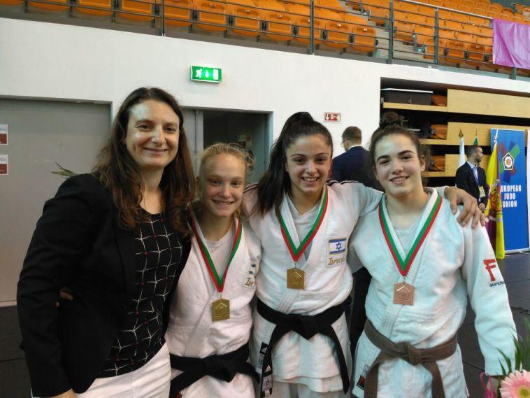 שתי מדליות זהב לקדטיות בתחרות הסבב האירופי