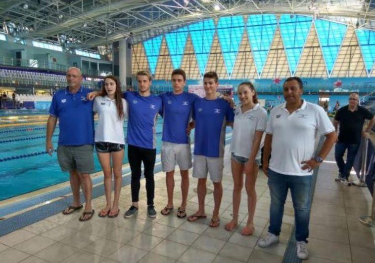 נבחרת השחייה