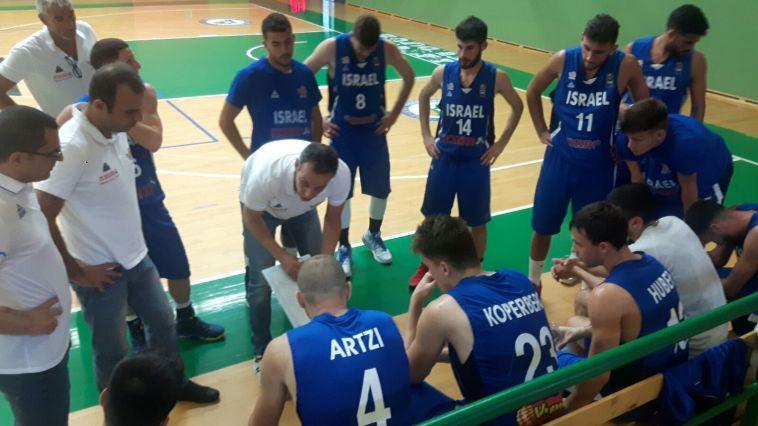 נבחרת העתודה גברה 79:93 על אוקראינה