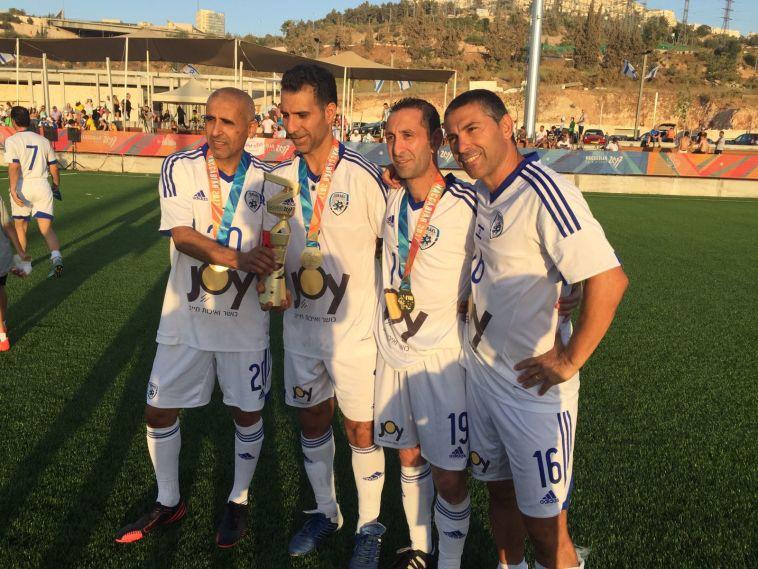 זהב לנבחרת הוותיקים של ישראל בכדורגל