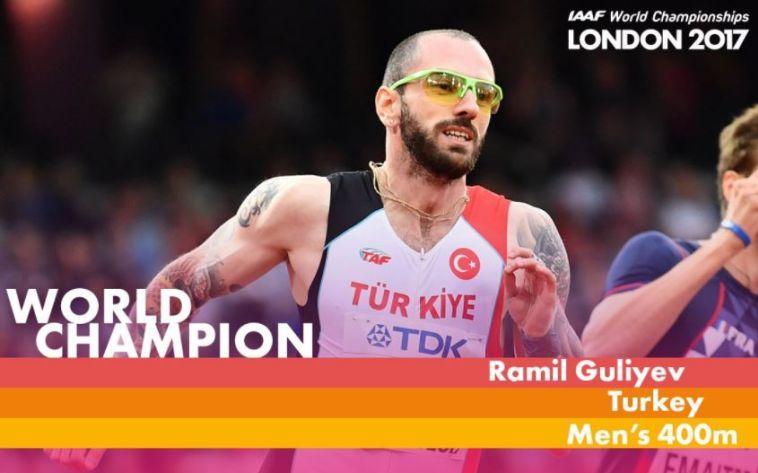 גולייב הטורקי הדהים עם מדליית זהב ב-200 מטרים