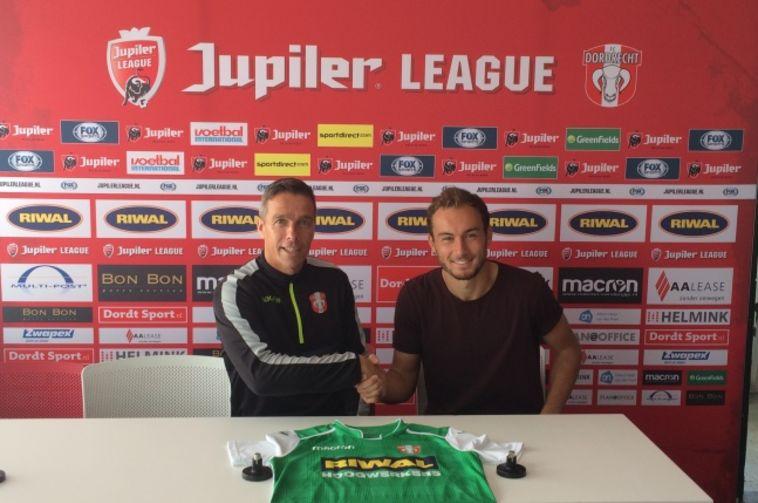 בנו של רוני רוזנטל חתם בדורדרכט מהליגה השנייה בהולנד