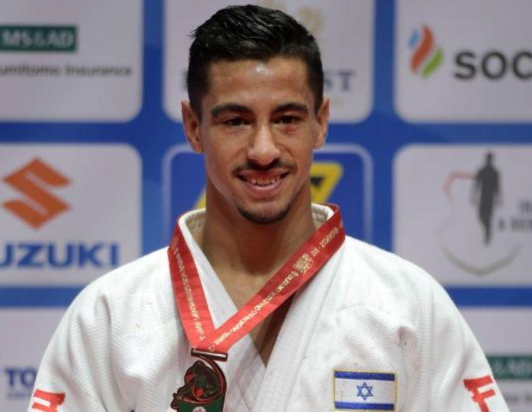 טל פליקר זכה במדליית ארד באליפות העולם בג'ודו
