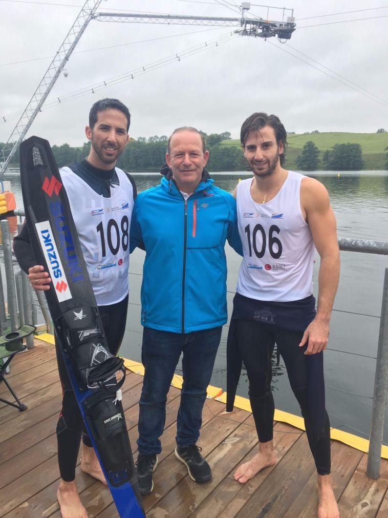אור שיניוק זכה באליפות אירופה בסקי מים