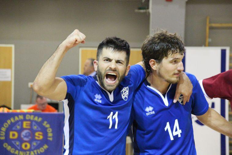 נבחרת ישראל חרשים בכדורגל אולמות העפילה לאליפות אירופה
