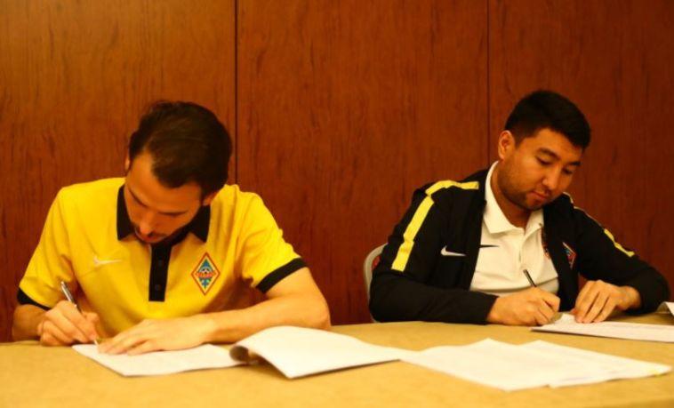 תחנה חדשה לגיא אסולין: חתם בקייראט הקזחית לשנתיים