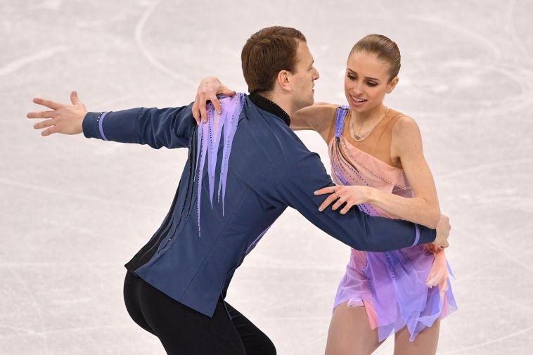יבגני קרסנופולסקי ופייג' קונרס סיימו במקום ה-19