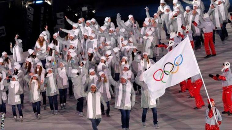 נבחרת רוסיה באולימפיאדת החורף