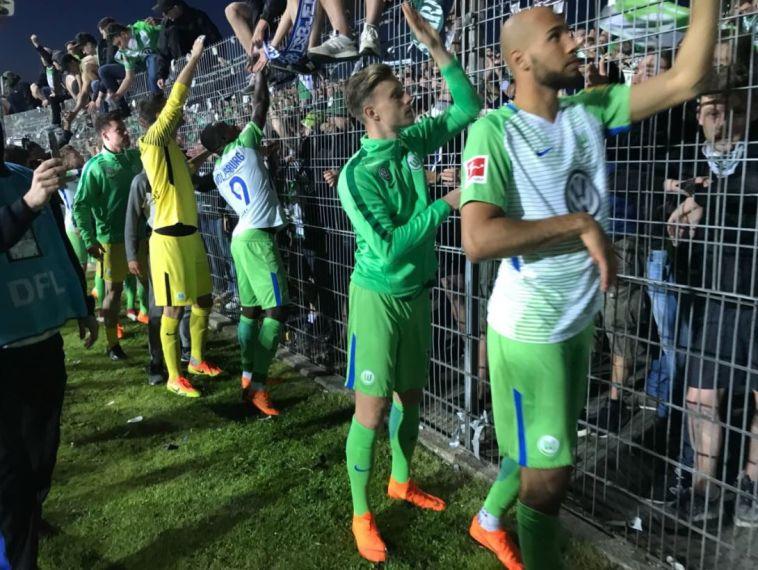 וולפסבורג נשארה בבונדסליגה, הואסקה עלתה ללה ליגה לראשונה בתולדותיה