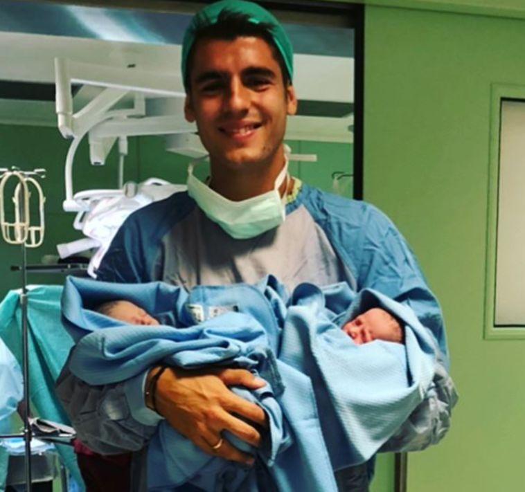 אלברו מוראטה ואליס קמפלו הורים לשניים!