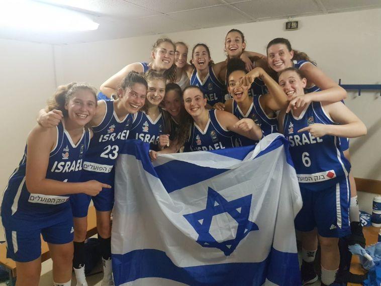 נבחרת הנערות עלתה לרבע גמר אליפות אירופה דרג ב'
