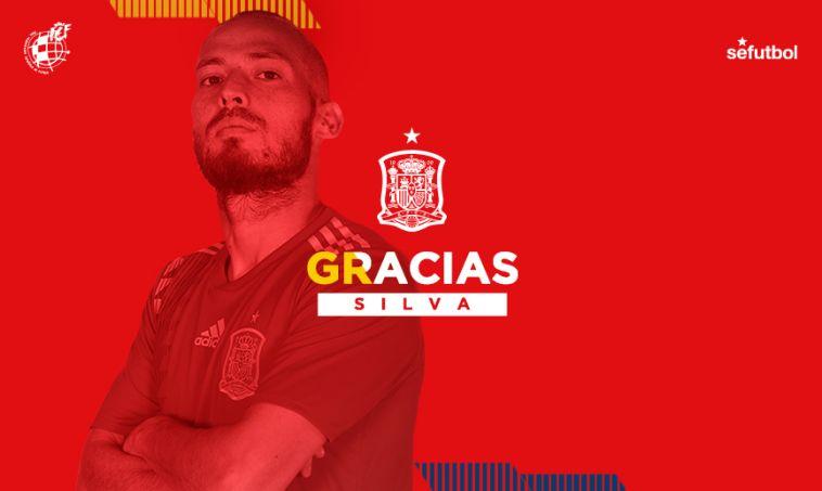 הצטרף לפיקה: דויד סילבה הודיע על פרישה מנבחרת ספרד