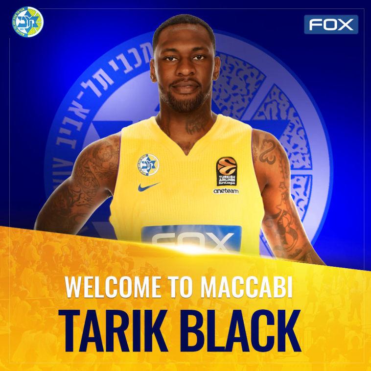 טאריק בלאק חתם לעונה במכבי תל אביב