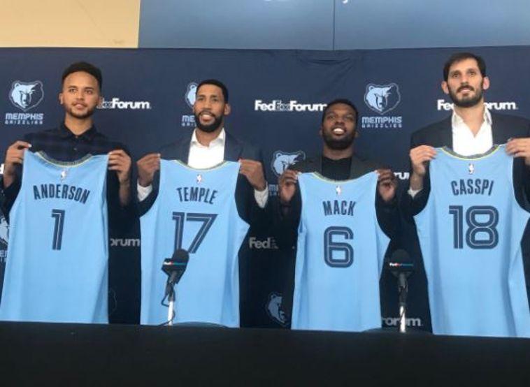"""עומרי כספי הוצג בממפיס: """"זו קבוצה שתמיד רוצה לנצח"""""""