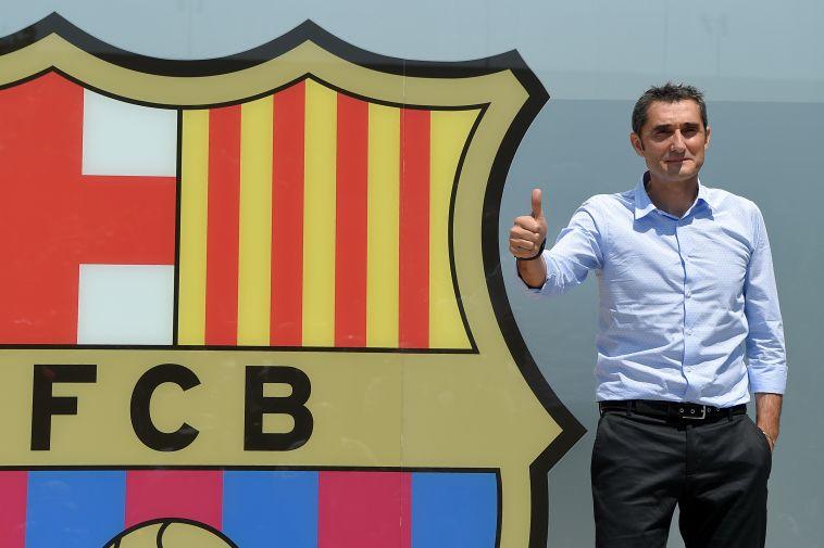 """ארנסטו ואלוורדה. """"תוך חודש חולל ניסים בברצלונה"""" (AFP)"""