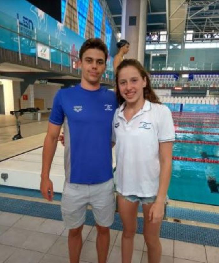 דניס לוקטב ולאה פולנסקי (איגוד השחייה)