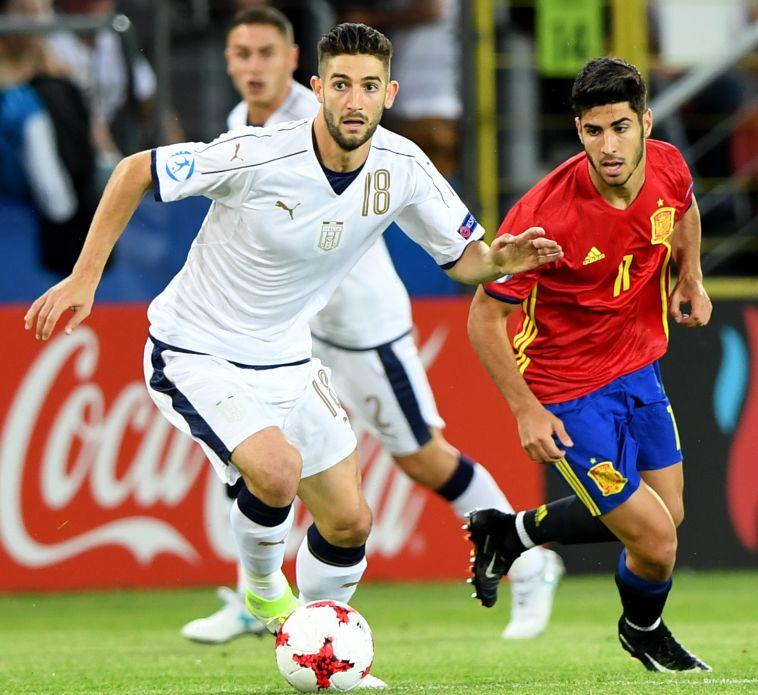 ספרד נגד איטליה (AFP)