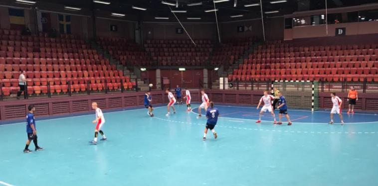 נבחרת הנוער של ישראל בכדוריד נגד פולין (צילום: איגוד הכדוריד)