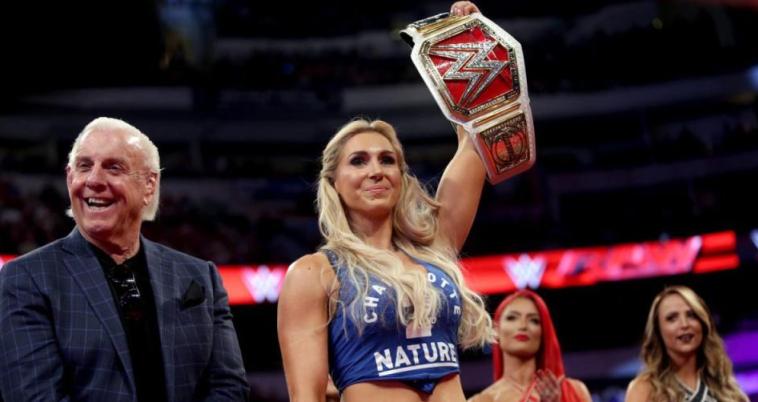 שארלוט וריק פלייר. המתאבקת הכי טובה ב-WWE (WWE, אתר רשמי)
