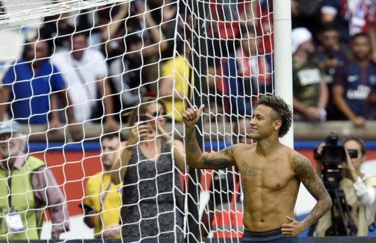 """ניימאר. """"יהיה השחקן מס' 1 בעולם"""" (AFP)"""