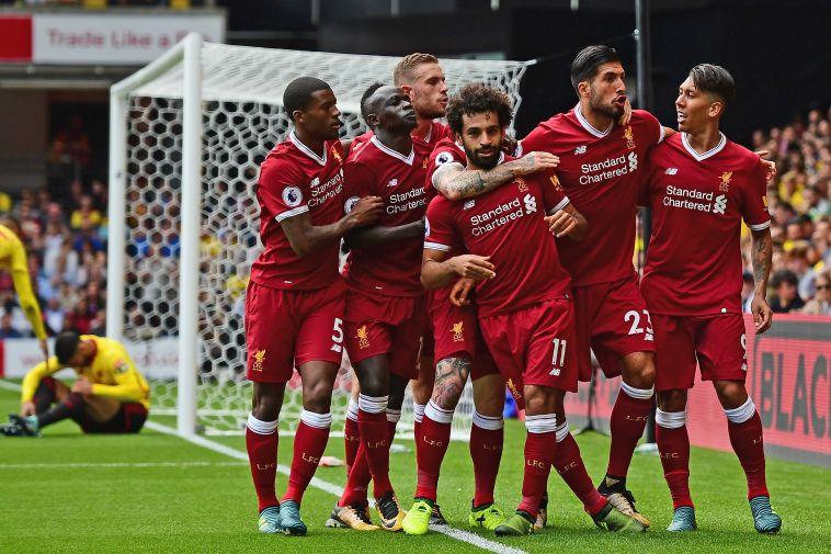 שחקני ליברפול. מקווים לחגוג ניצחון ביתי (gettyimages)