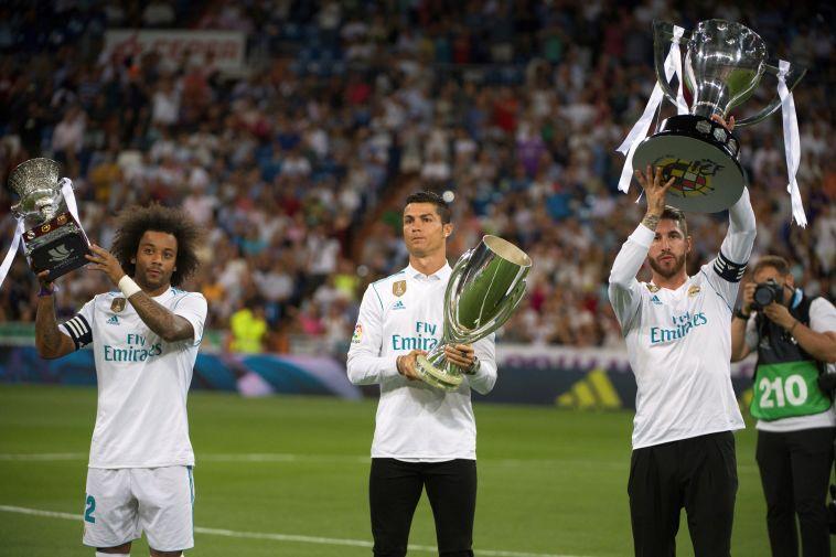 שחקני ריאל מדריד. הסגל היקר בעולם (AFP)