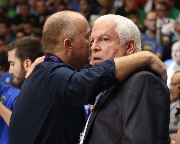 אדלשטיין וגרשון במילים אחרונות לפני המשחק (עדי אבישי)