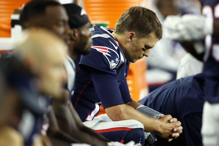 טום בריידי מאוכזב (AFP)