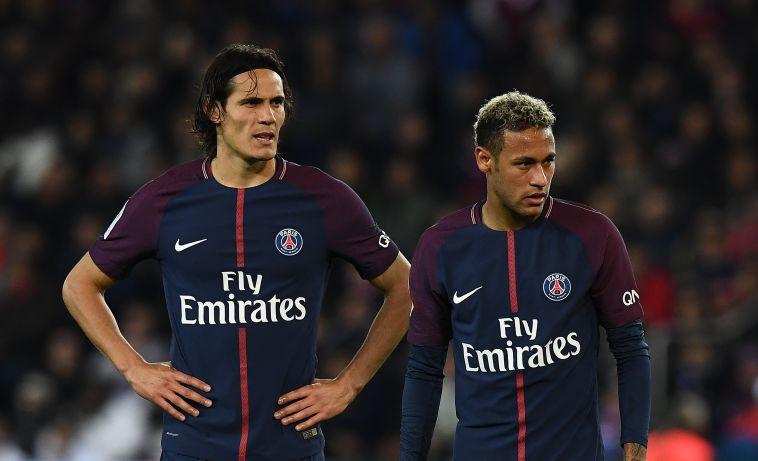 ניימאר וקבאני. בעונה הבאה רק אחד מהם יבעט (AFP)