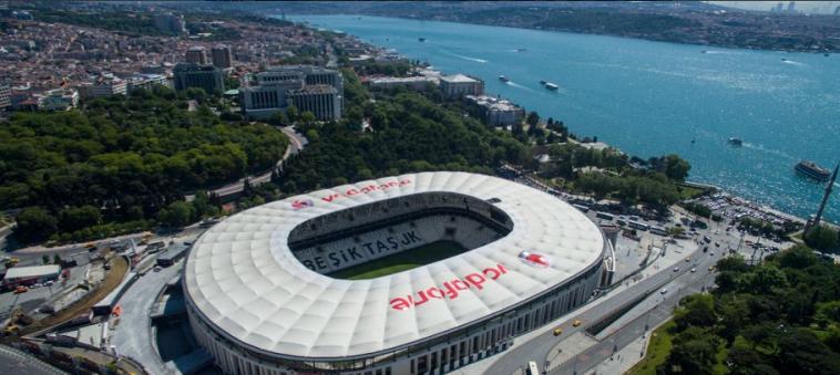 """אצטדיון """"וודאפון פארק"""" באיסטנבול (טוויטר)"""