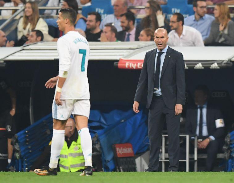 זידאן ורונאלדו. משבר גם בין המאמן לכוכב? (AFP)