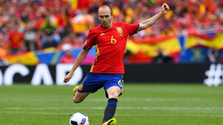 """במדי נבחרת ספרד. """"המונדיאל תהיה החוויה האחרונה"""" (AFP)"""