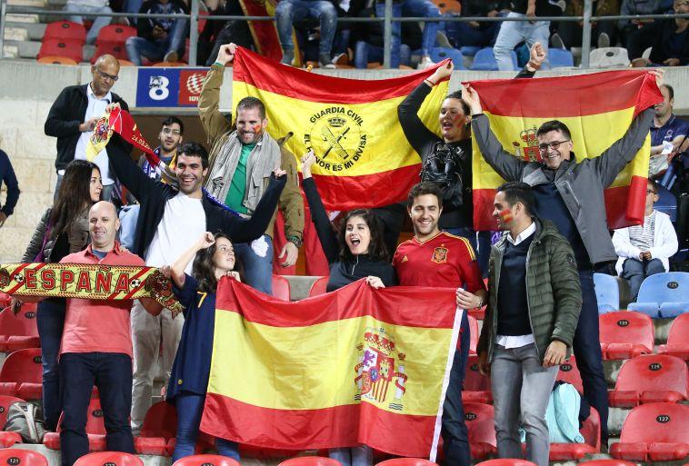 אוהדי נבחרת ספרד. ישראלים או ספרדים? (דני מרון)