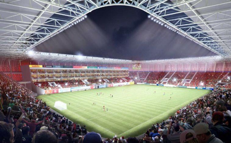 האצטדיון בבת ים (shanghai Institute of Architectural Design & Research Co,. Ltd)