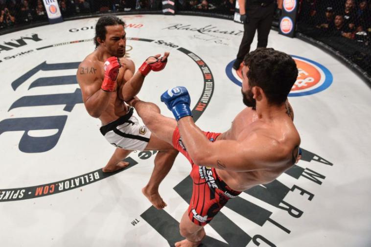 """""""פיטבול"""" נגד הנדרסון. לא סופר לוחמי UFC (טוויטר)"""