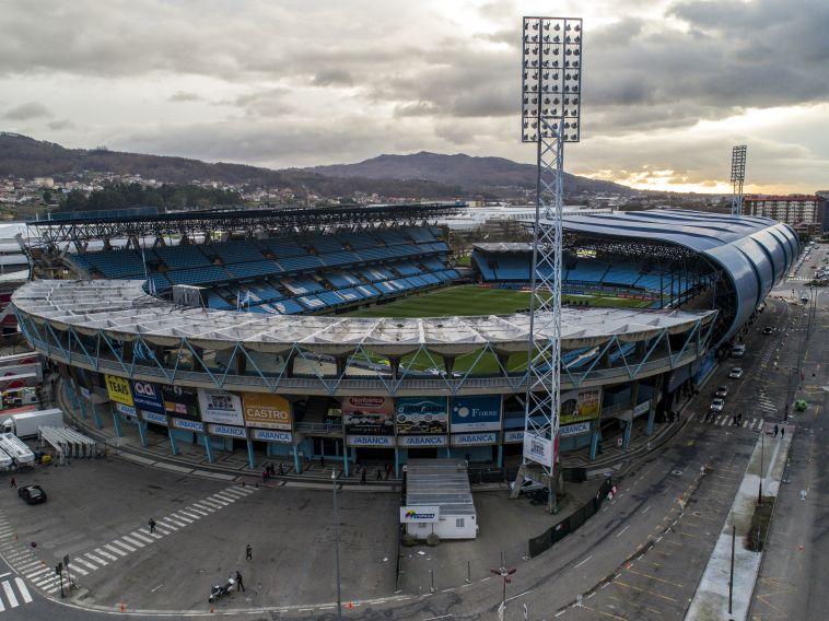 אצטדיון בליידוס. מוכן להגעה של הבלאנקוס (gettyimages)