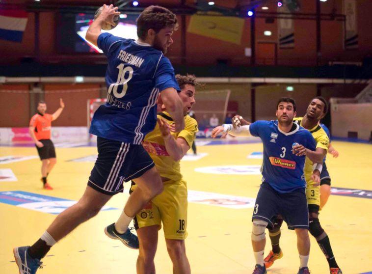 דניאל פרידמן במדי הנבחרת (Limburgse Handball Dagen)